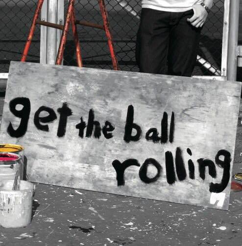 Get the ball rolling 高橋優介 画像